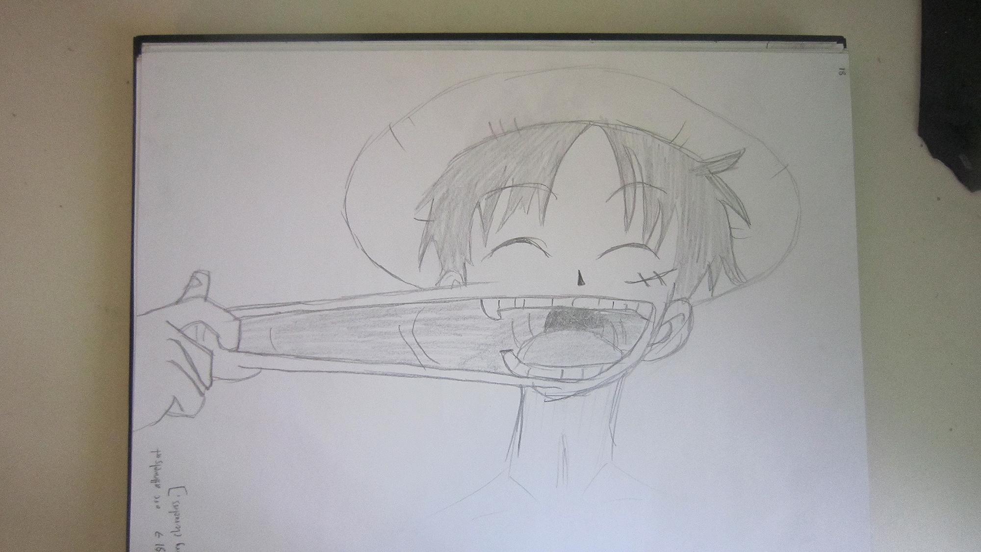 Luffy by Jesterhead37