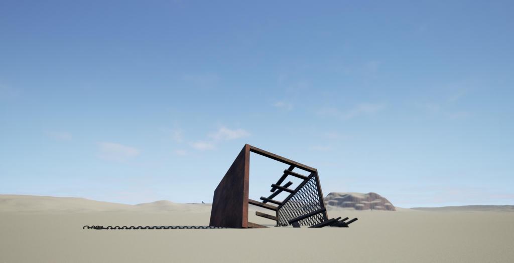 Veilia - Desert by Jesterhead37