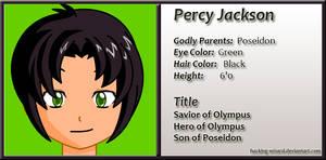 Percy Jackson (Anime Version)