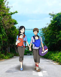 A Family Stroll (Blood+)