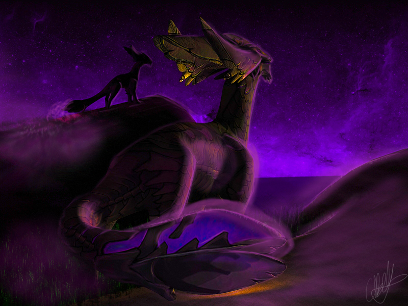 Purple Peace by lazerus-reborn