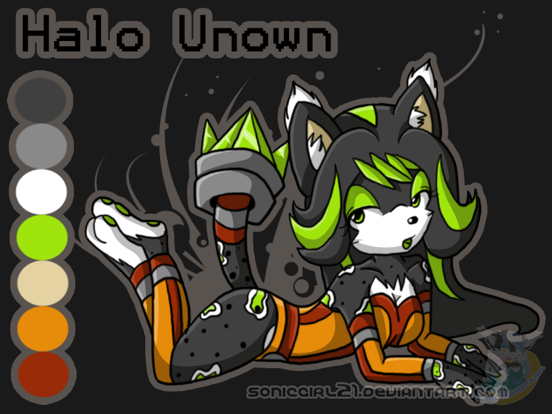 :NC: Halo Unown by kakyuuspark