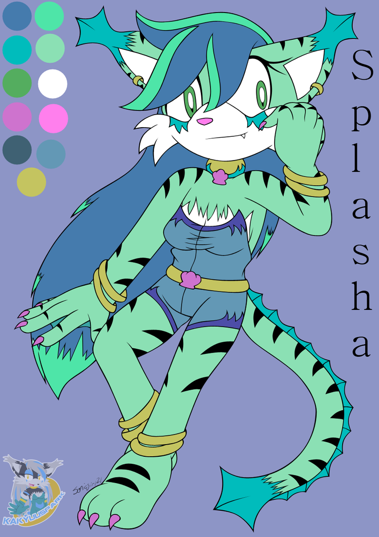NC: Splasha by kakyuuspark