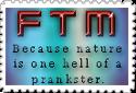 Nature's Prank FTM stamp by CatalystSpark