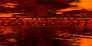 Leathurkatt 3D text