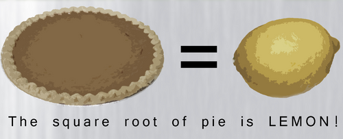 Square root of Pie. . .