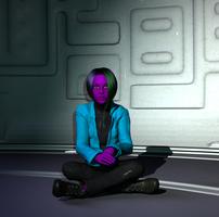 ReBoot OC: Archetype by CatalystSpark