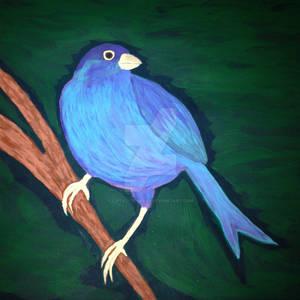 Blue Bird of Hope