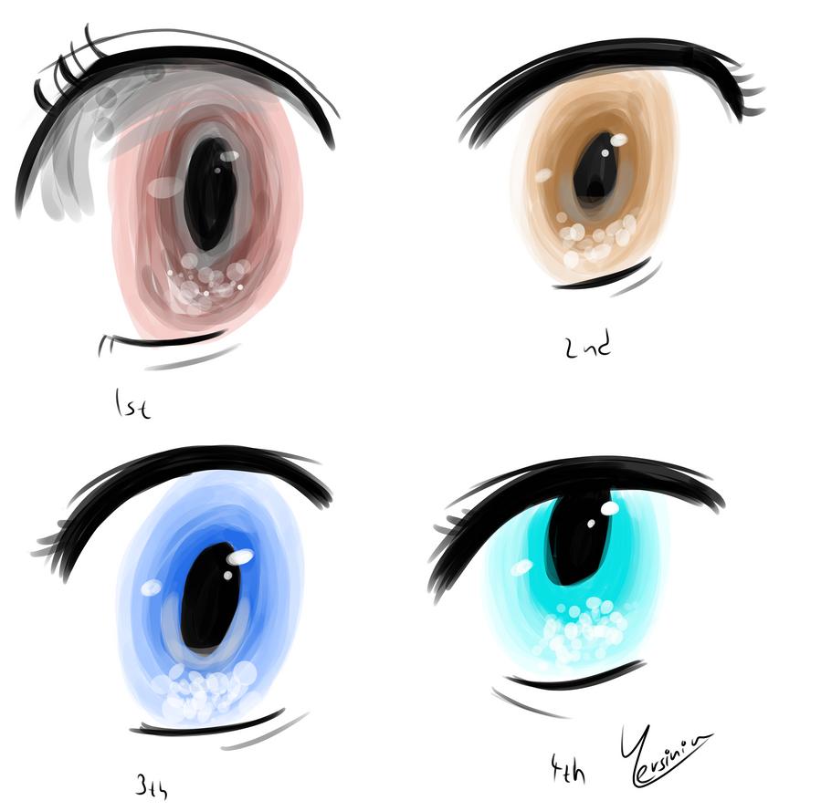 Eye practice by Yersinia88