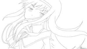 LineArt - Homura