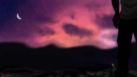 New Horizons   Digital Painting by Yersinia88