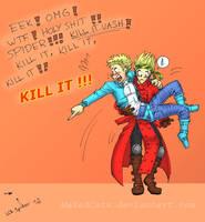 Knives Greatest Fear by MaXedCats