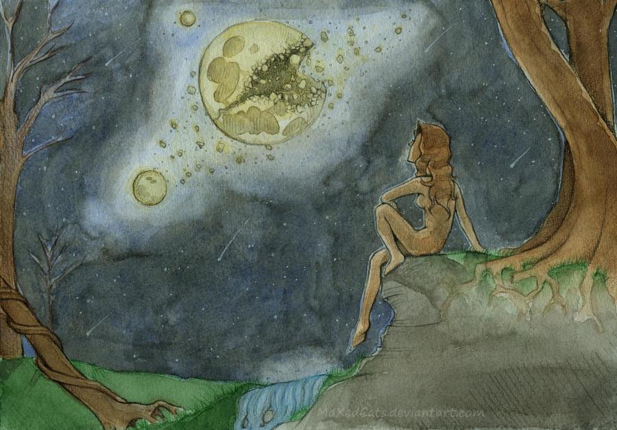 Broken Moon by MaXedCats