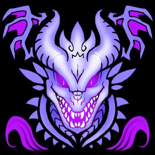 Amarantine Dragons Logo ver2 by MaXedCats