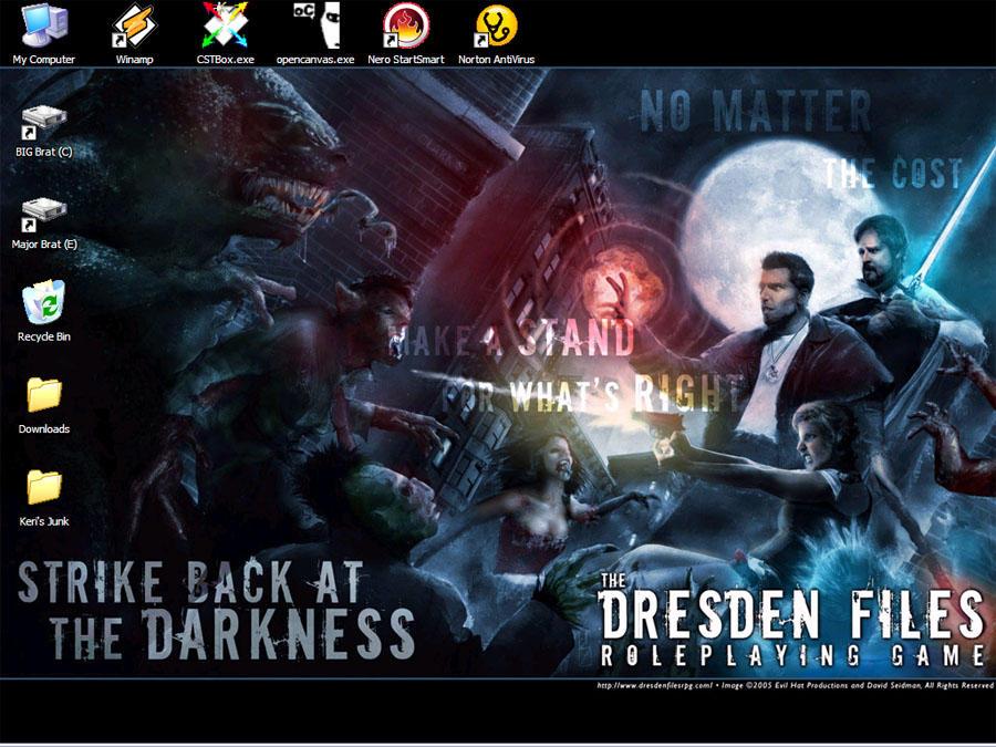 Dresden Desktop by the-dresden-files