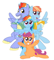 The Dash Family by CrazyNutBob