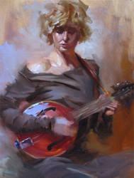 Amanda's Mandolin by Adam-Nowak