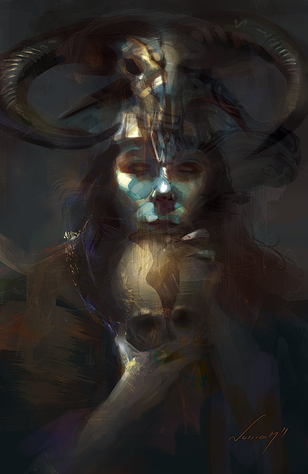 The Shepherd by Adam-Nowak
