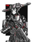 Psyonic-soldier N.B. DEMON FACTION ( DEMON WARS)