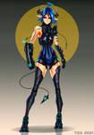 Blue enclave Imp Demon Wars Character Desing by 2-TICK-0
