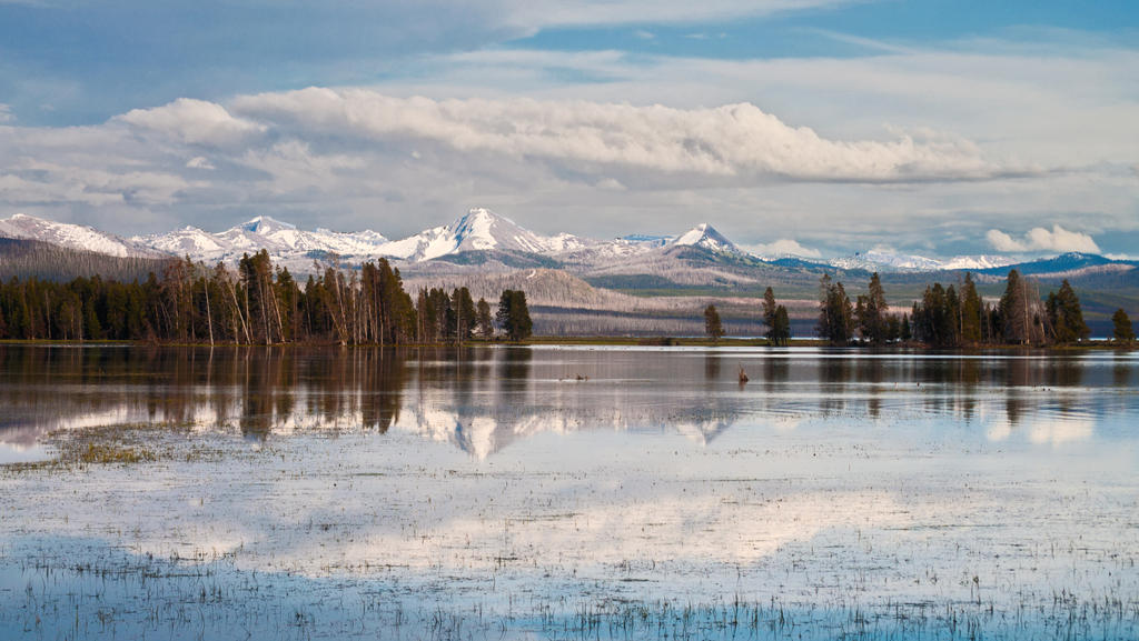 Yellowstone Lake by dragon-fly-to-me