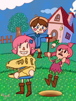 Animal Crossing: we found something by Miguelphantasy