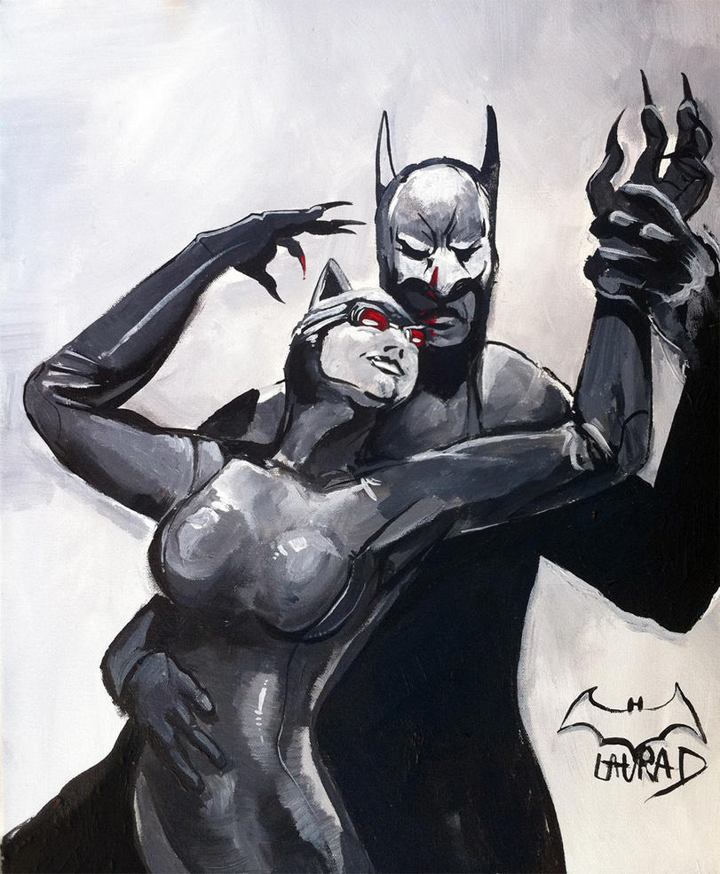 Catwoman and Batman by Kenu on DeviantArt