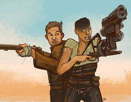 Max and Furiosa by Kenu