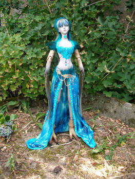 Phasia the winged Lady in blue