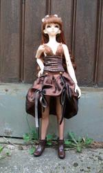 Aya steampunk-fantasy girl