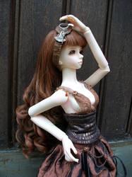 Aya steampunk-fantasy portrait