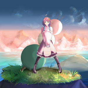 Himemori Luna, the Dango Hunter!