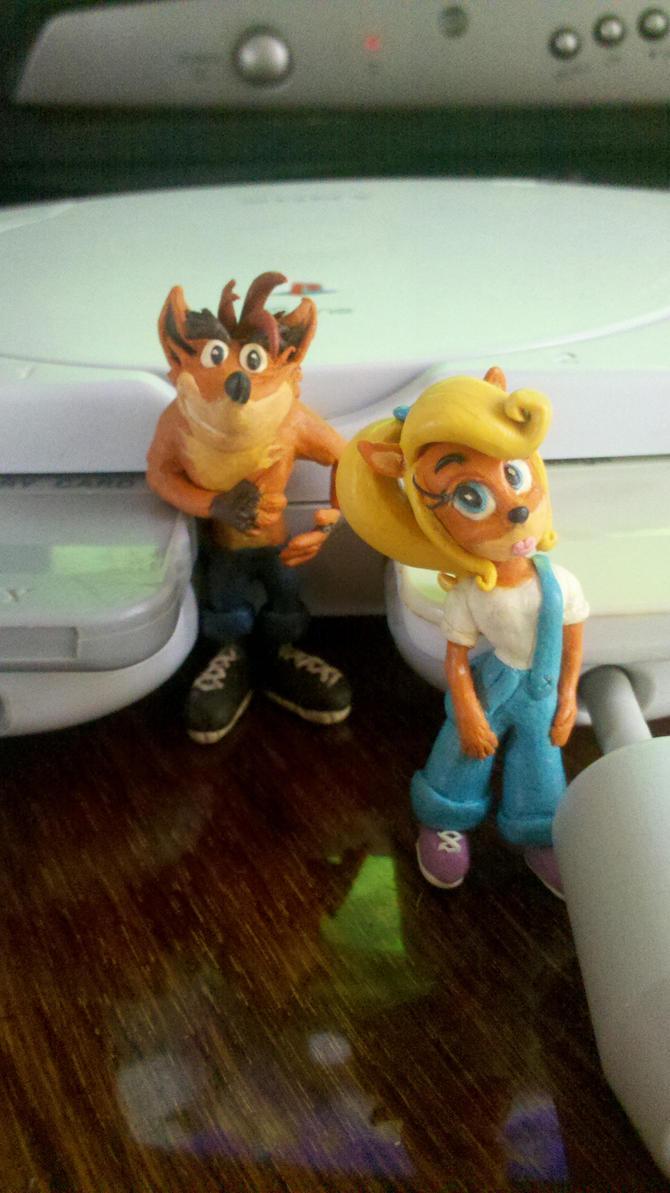 Crash and Coco (Bonus!) by Lauantai