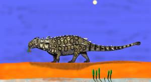 Mongolian Ankylosaur from Mongolia