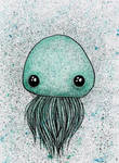 Cute Jellyfish Illustration