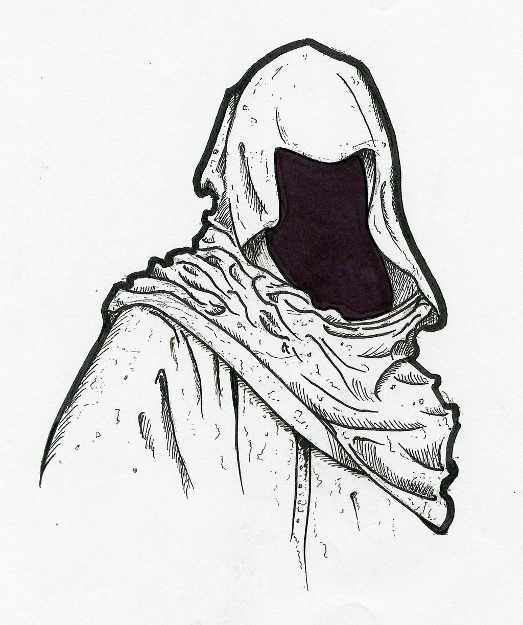 Hooded Figure By Dravek On DeviantArt