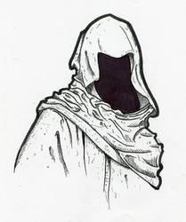 Hooded Figure by Dravek