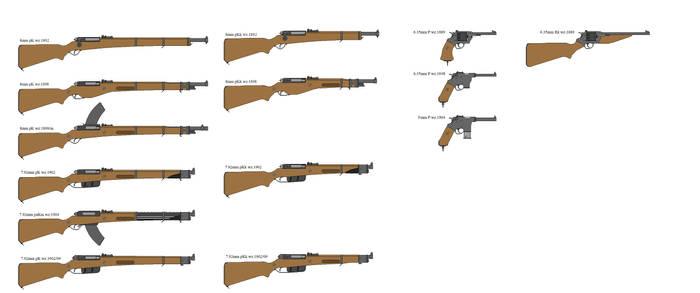 WWI Weaponry (Very WIP)