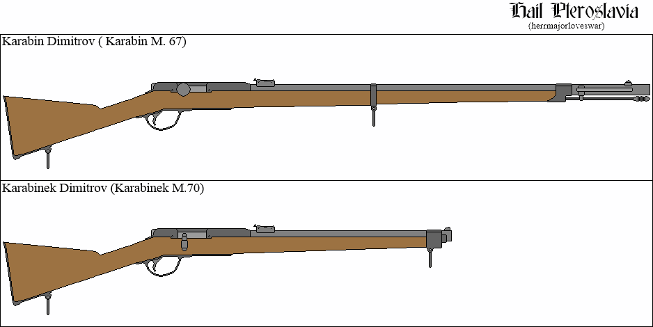 Karabin Dimitrov Series (M. 67 - 70) by HerrMajorLovesWar