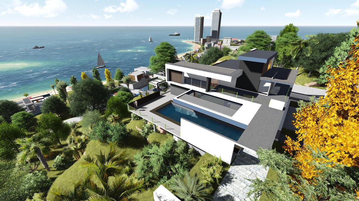 Moder beach villa by gofik