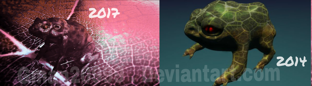 Frog Before and after skill test!! by Gman20999