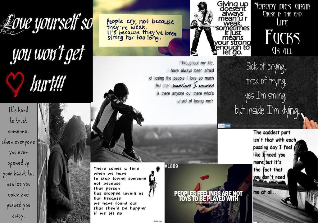 emo quotes by beybladeking1 on deviantart