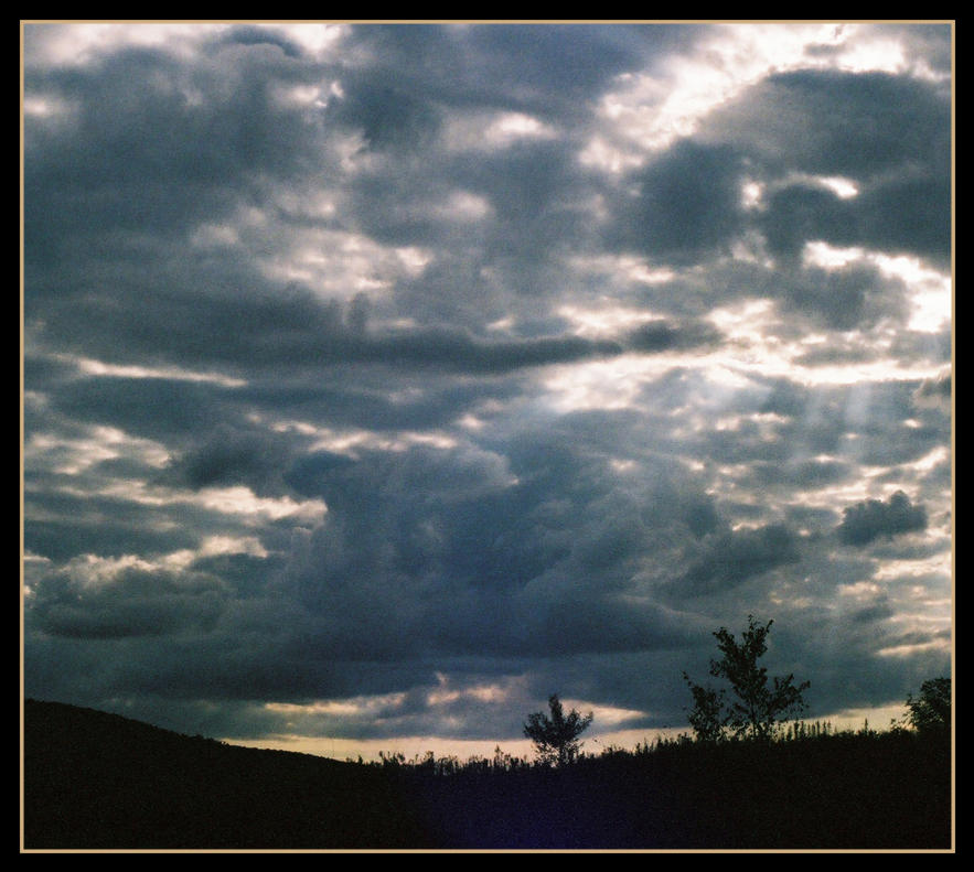 Sun and Clouds by Donohue
