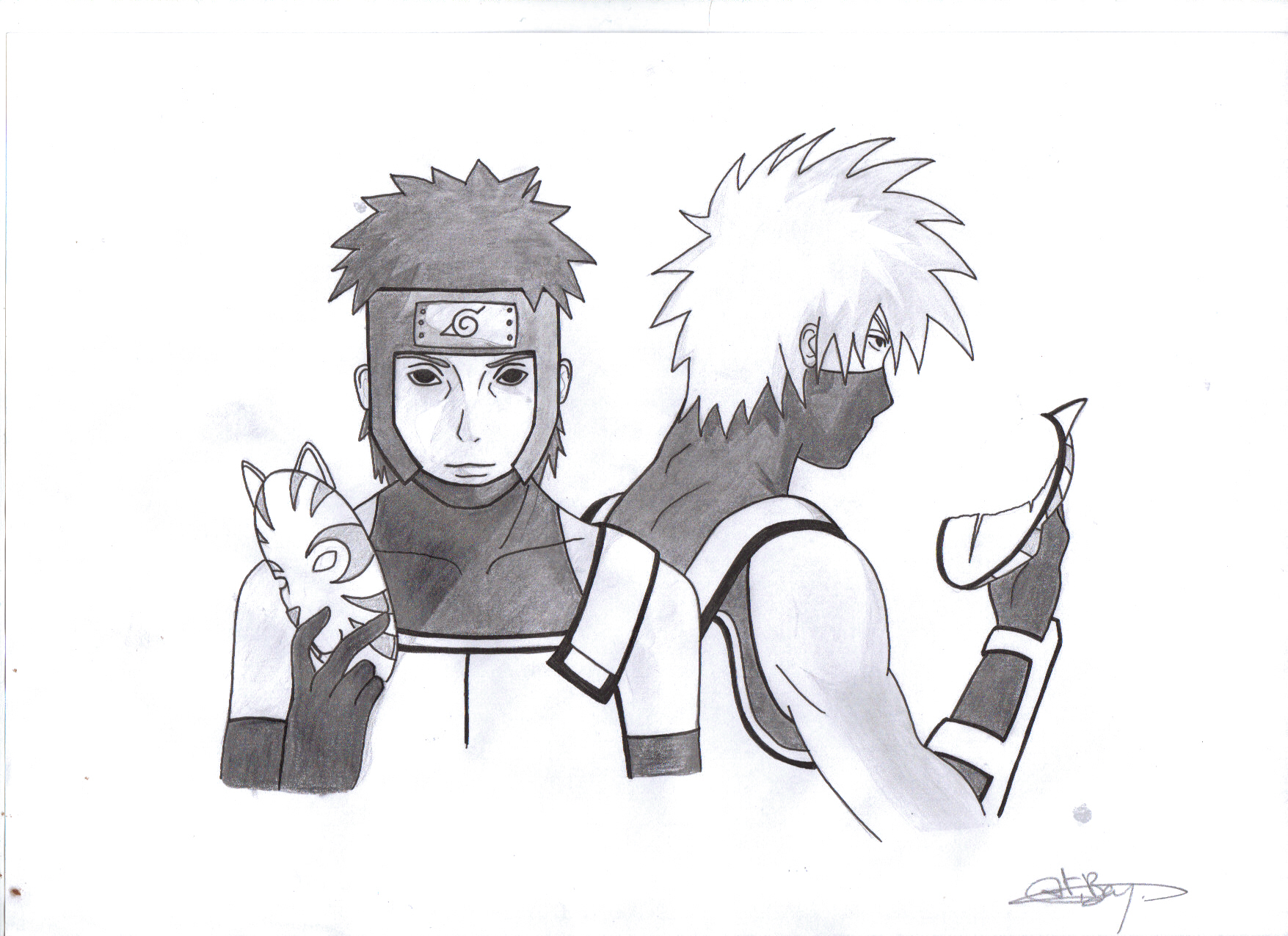 Naruto Anbu Masks By Purpledragon42 | Short News Poster