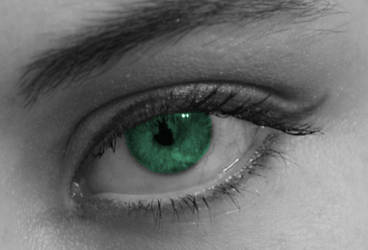 Eye of Green by lilsquee