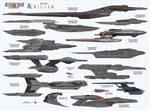 Star Trek Discovery  Picard Ships (2x)