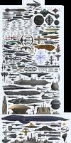 Starship Dimensions (-2x)