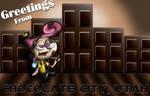Chocolate City Post Card