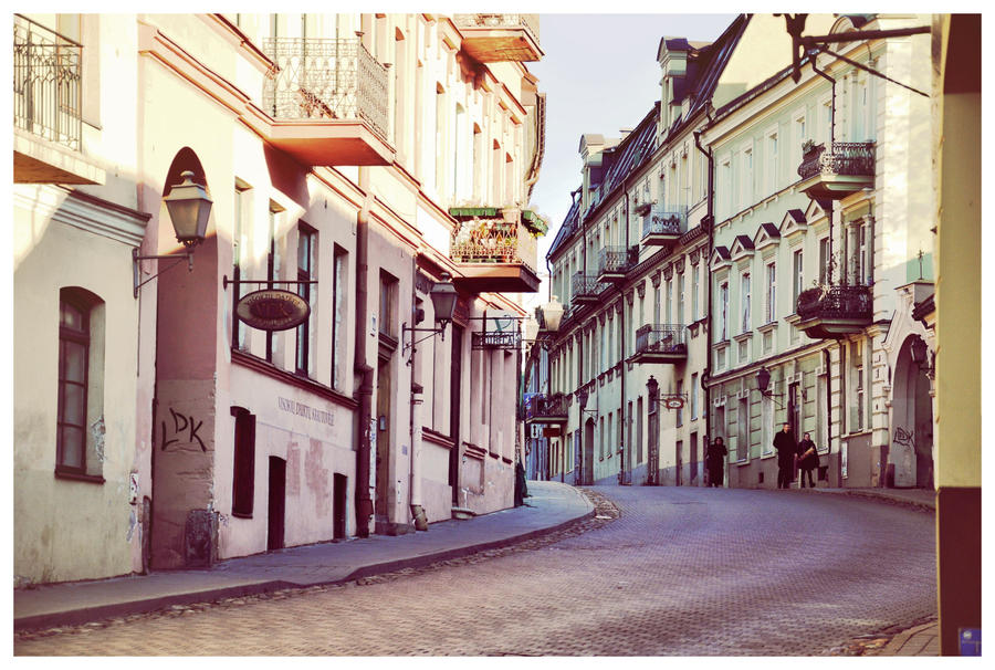 Vilnius street by LauraSto