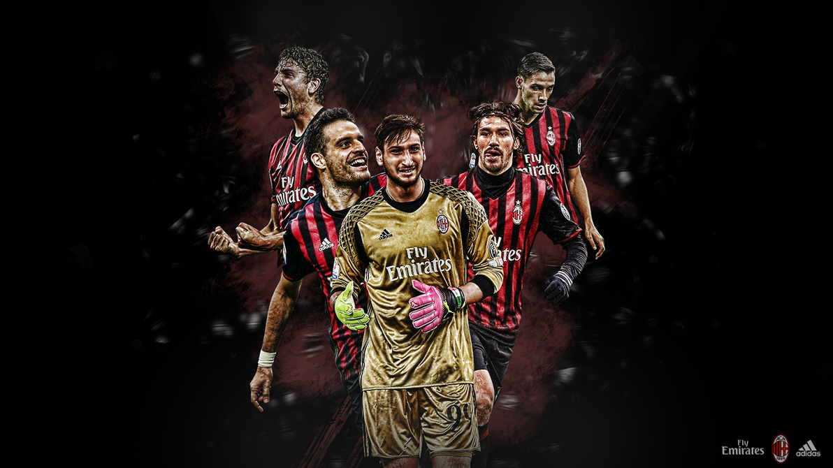 AC Milan Wallpaper By Skojaf